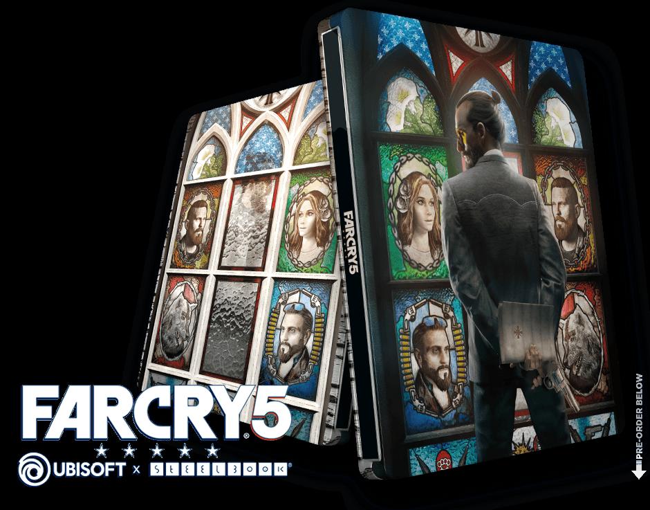 Far Cry 5 Gold Edition Steelbook