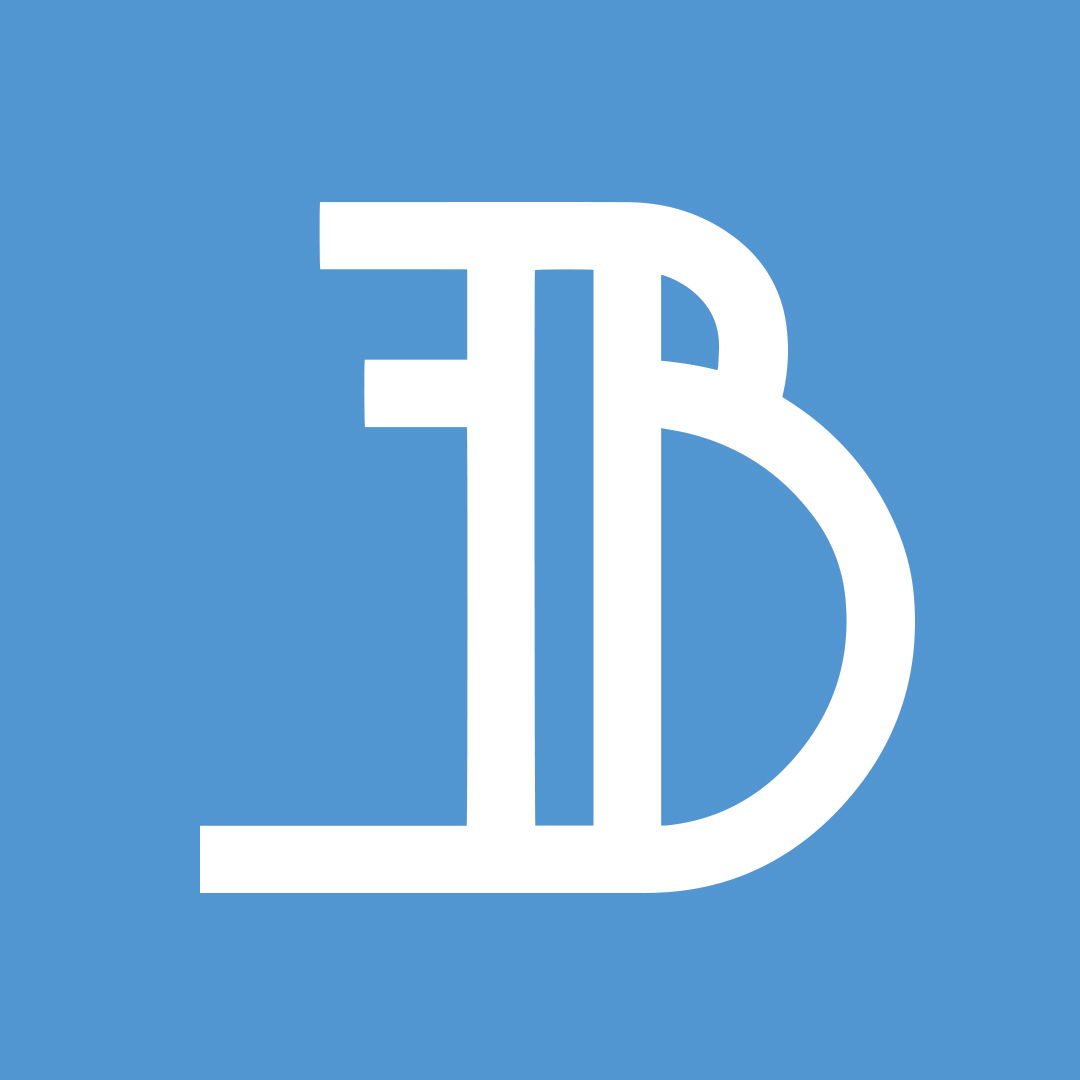 EverythingBlu – Blue logo